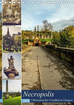 Glasgow Necropolis (Tischkalender 2018 DIN A5 hoch) von Creutzburg,  Jürgen