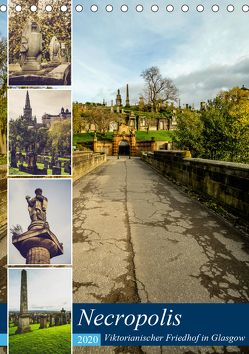 Glasgow Necropolis (Tischkalender 2020 DIN A5 hoch) von Creutzburg,  Jürgen