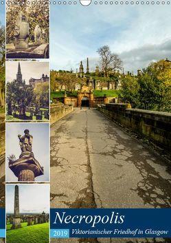 Glasgow Necropolis (Wandkalender 2019 DIN A3 hoch) von Creutzburg,  Jürgen