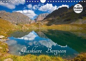 Glasklare Bergseen (Wandkalender 2018 DIN A4 quer) von Kramer,  Christa