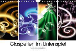 Glasperlen im Linienspiel (Wandkalender 2018 DIN A4 quer) von Sattler,  Heidemarie