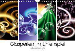 Glasperlen im Linienspiel (Wandkalender 2019 DIN A4 quer) von Sattler,  Heidemarie