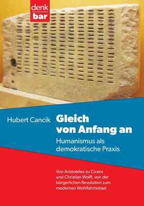 Gleich von Anfang an von Cancik,  Hubert, Speier,  Christoph