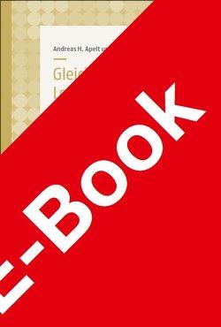 Gleichwertige Lebensverhältnisse!? von Andreas H.,  Apelt, Vincent,  Regente