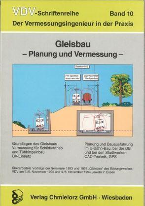 Gleisbau – Planung und Vermessung von Klemp,  Dieter