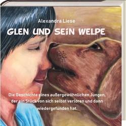Glen und sein Welpe. von Alexandra,  Liese