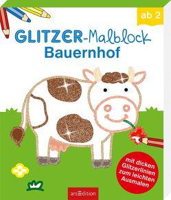 Glitzer-Malblock Bauernhof von Schmidt,  Sandra