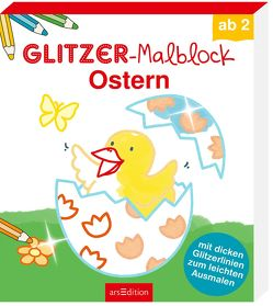 Glitzer-Malblock Ostern von Beurenmeister,  Corina