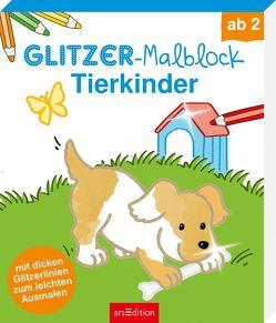 Glitzer-Malblock Tierkinder von Beurenmeister,  Corina
