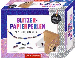 Glitzer-Papierperlen zum Selbermachen