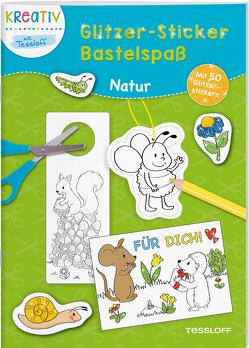 Glitzer-Sticker Bastelspaß. Natur von Schwendemann,  Nadja