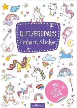 Glitzerspaß – Einhorn-Sticker