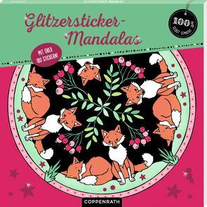 Glitzersticker-Mandalas von Kronheimer,  Ann