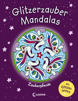 Glitzerzauber-Mandalas – Zauberpferde von Labuch,  Kristin