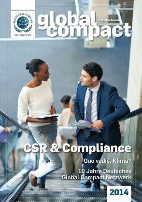 Global Compact Deutschland 2014 von Lenzen,  Elmer