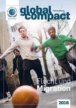 Global Compact Deutschland 2016 von Engel,  Marcel, Lenzen,  Elmer, Weizsäcker,  Carl Christian