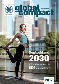 Global Compact Deutschland 2017 von Lenzen,  Elmer