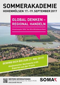 GLOBAL DENKEN – REGIONAL HANDELN von Kulturstiftung Hohenmölsen