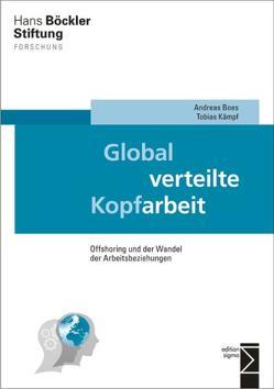 Global verteilte Kopfarbeit von Boes,  Andreas, Kämpf,  Tobias