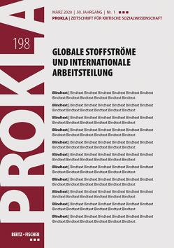 Globale Stoffströme und internationale Arbeitsteilung von Prokla 198