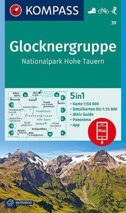 Glocknergruppe, Nationalpark Hohe Tauern von KOMPASS-Karten GmbH