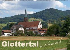 Glottertal im Schwarzwald (Wandkalender 2019 DIN A2 quer) von Flori0,  k.A.