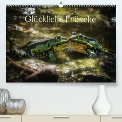 Glückliche Frösche (Premium, hochwertiger DIN A2 Wandkalender 2020, Kunstdruck in Hochglanz) von Gawlik,  Kathrin