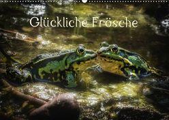 Glückliche Frösche (Wandkalender 2019 DIN A2 quer) von Gawlik,  Kathrin