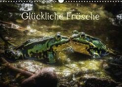Glückliche Frösche (Wandkalender 2019 DIN A3 quer) von Gawlik,  Kathrin