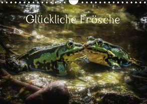 Glückliche Frösche (Wandkalender 2019 DIN A4 quer) von Gawlik,  Kathrin
