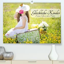 Glückliche Kinder. Kleine Elfen in der Natur (Premium, hochwertiger DIN A2 Wandkalender 2021, Kunstdruck in Hochglanz) von Stanzer,  Elisabeth