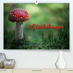 Glücksbringer (Premium, hochwertiger DIN A2 Wandkalender 2021, Kunstdruck in Hochglanz) von Berg,  Martina