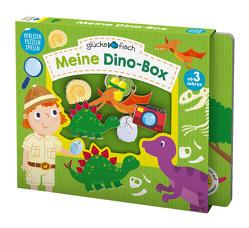 Glücksfisch: Meine Dino-Box von Bermingham,  Alice-May, Chapman,  Aimee, Hamley,  Kylie, Meredith,  Samantha, Sagar,  Lindsey