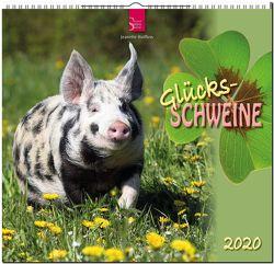 Glücksschweine von Hutfluss,  Jeanette