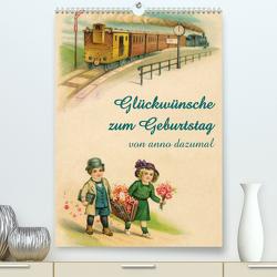 Glückwünsche zum Geburtstag (Premium, hochwertiger DIN A2 Wandkalender 2020, Kunstdruck in Hochglanz) von - Martina Berg + Antje Lindert-Rottke,  Pferdografen