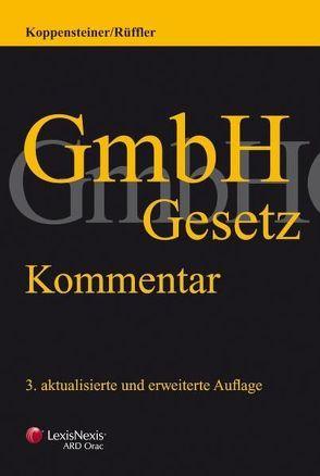 GmbH-Gesetz von Koppensteiner,  Hans G, Rüffler,  Friedrich