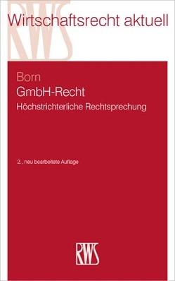 GmbH-Recht von Born,  Manfred