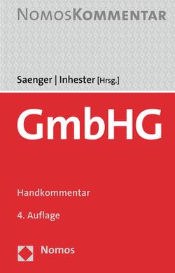 GmbHG von Inhester,  Michael, Saenger,  Ingo
