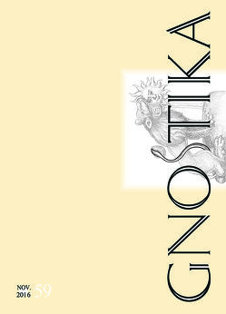 GNOSTIKA 59 – Humanismus von Frietsch,  Wolfram, Hakl,  Hans Thomas