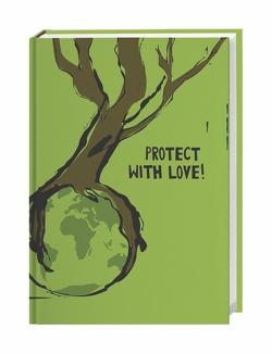 Go Green 17-Monats-Kalenderbuch Kalender 2022 von Heye