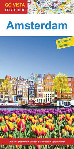 GO VISTA: Reiseführer Amsterdam von Glaser,  Hannah