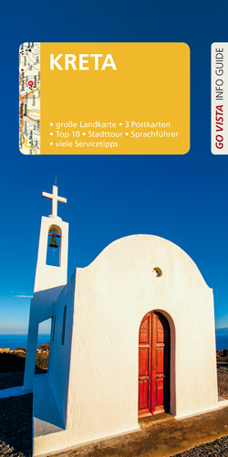 GO VISTA: Reiseführer Kreta von Blisse,  Manuela