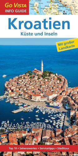 GO VISTA: Reiseführer Kroatien von Marr-Bieger,  Lore