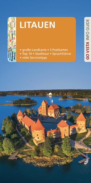 GO VISTA: Reiseführer Litauen von Bisping,  Stefanie
