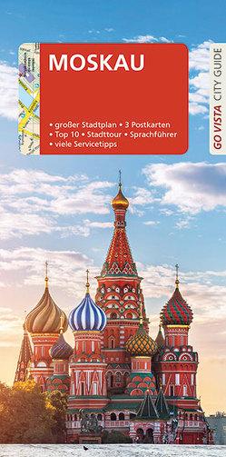 Go Vista: Reiseführer Moskau von Rybak,  Andrzej