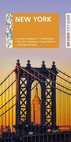 GO VISTA: Reiseführer New York von Glaser,  Hannah