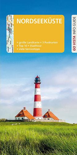 GO VISTA: Reiseführer Nordseeküste von Fründt,  Hans-Jürgen