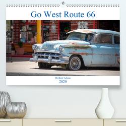 Go west Route 66 (Premium, hochwertiger DIN A2 Wandkalender 2020, Kunstdruck in Hochglanz) von Adams www.foto-you.de,  Heribert