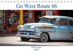 Go west Route 66 (Tischkalender 2019 DIN A5 quer) von Adams www.foto-you.de,  Heribert