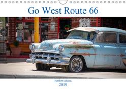 Go west Route 66 (Wandkalender 2019 DIN A4 quer) von Adams www.foto-you.de,  Heribert